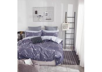 Комплект постельного белья/B-0175  Eu Bella Villa Сатин-фотопринт, 4 ед.