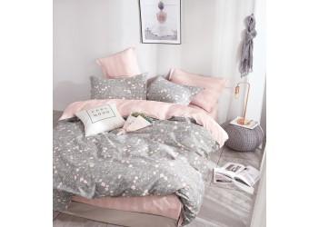 Комплект постельного белья/B-0178  Eu Bella Villa Сатин-фотопринт, 4 ед.