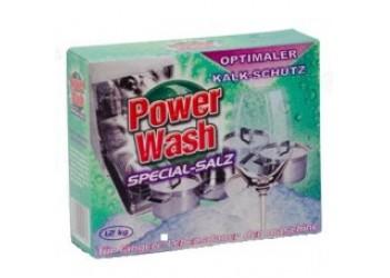 Соль для посудомоечных машин машин Power Wash 1,2 кг