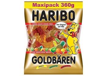 Конфеты HARIBO goldbarchen MAXIPACK 360g