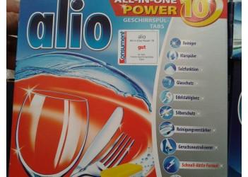 Таблетки для посудомойки ALIO 40 шт