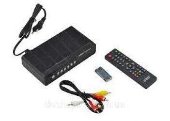 Тюнер DVB-T2 HD72 + WI-FI антена в комплекте IPTV 400каналов, YouTube