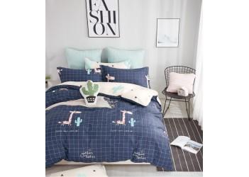 Комплект постельного белья B-0194 Sn Bella Villa Сатин-фотопринт 4 ед