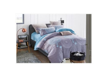 Комплект постельного белья/B-0061 Eu Bella Villa Сатин-фотопринт, 4 ед.