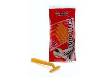 """Набір одноразових станків для гоління Wilkinson - Sword """"Pronto"""" -5шт"""
