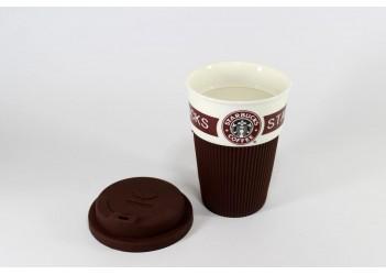 CUP Стакан StarBucks (коричневый или зеленый)