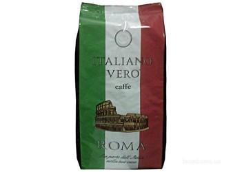 Кофе в зернах Italiano Vero ROMA 50% арабика, 50% робуста