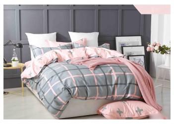 Комплект постельного белья/B-0117 Eu Bella Villa Сатин-фотопринт, 4 ед.