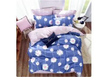 Комплект постельного белья/B-0120 Fm  Bella Villa Сатин-фотопринт, 7 ед.